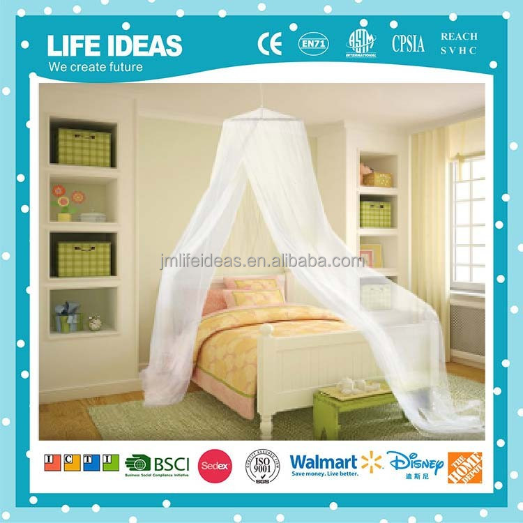 home circular foldable conical queen king size mosquito net canopy for single or double bed