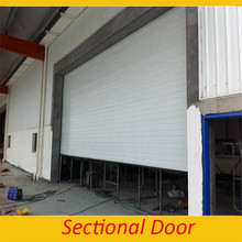 India Design Industrial Front Fire Rated Sectional over head Doors Used