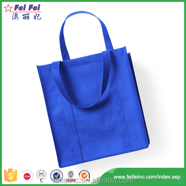 Non-Woven Customized Nonwoven Shopping Grocery Tote Bag 284