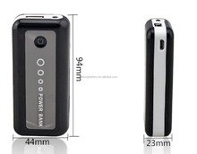 china manufacturer 4400mAh portable power bank for ipad ,iphone digital camera MP3 MP4 with LED indicator