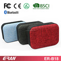 Factory promotion small fabric bluetooth speaker with hands-free call