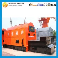 DZL 1.6Mpa Industrial 6 ton Corncob fired Steam Boilers for Dyeing Mill