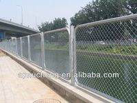 NEW PRODUCT!! 23 YEARS Manufacturer of Galvanized Chain Link Fence/PVC Coated Chain Link Fence Price/Electro Galvanized Iron Fen