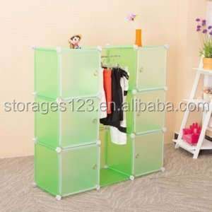 Multifunctional custom interlocking closet organizers