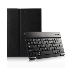 leather tablet protective case for ipad air 12 business tablet case with keyboard
