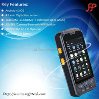 Android POS terminal handheld, payment pda barcode scanner no printer attached, payment plus phone