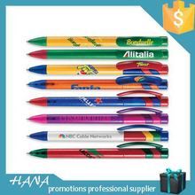Top grade OEM promotional push action ballpoint pen