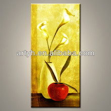 Wholesale Handmade Oil Painting Flowers In Vase On Canvas