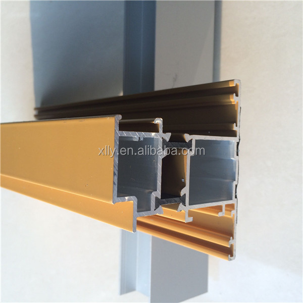 6061 6063 extruded aluminum profile/Aluminium tube pipe /aluminum extrusion profiles