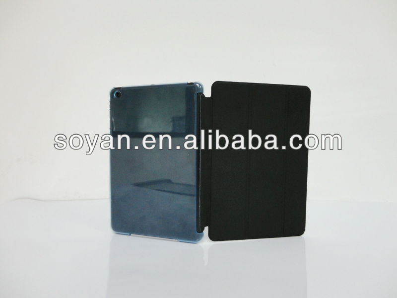 wallet leather cases for ipad ,rotary leather case for ipad