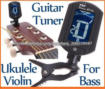 ENO MUSIC Cost Effective Acoustic Guitar Tuner ET-33