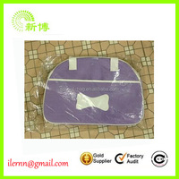High-end fashionable purple pet bag carrier