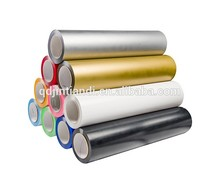 Metallic and holographic PET material hot stamping foil for fabric and textile