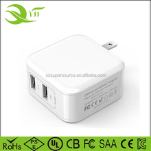 5v 4.8a usb wall charger mobile phone accessories mini usb charger for cell phones and tablets