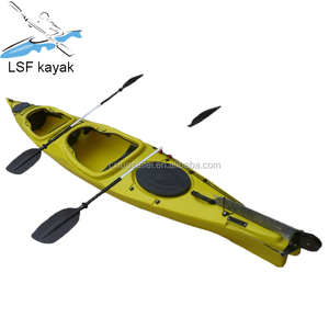 plastic high speed racing kayak made in China