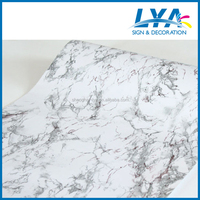 Fashion self-adhesive marble/marble design vinyl sticker/self-adhesive marble film for furniture