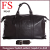 Nice design perfect genuine leather travel bags