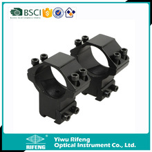 Hunting Tactical High Scope Mounts 30mm Rings for 11mm Rail Rifle Gun Flashlight Mount Accessory