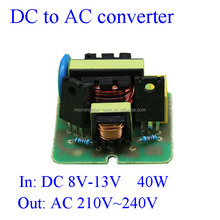 Second generation DC-AC power module dc 12V to ac 220V inverter for 40W Energy-saving lamps/Wifi router/speaker/DVD/VCD machine