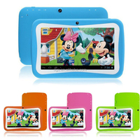 Android 4.4 Dual Core 7 inch RK3026 PAD MID Dual Cam Educational Games App Children Tablet PC