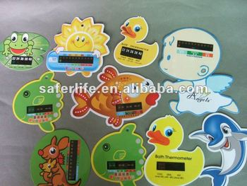LCD display Child care product Fever Checker Promotional Forehead strip thermometer