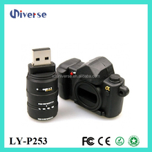 Freee sample usb with logo,camera shaped usb flash drive,wholesale usb flash drives