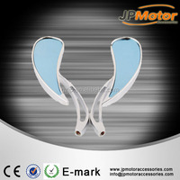 Chrome Motorcycle Rear View RearView Mirrors For Cruiser Chopper scooter side mirror