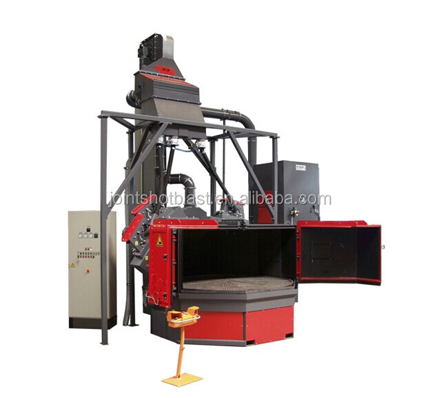 Q35 Rotary table shot blasting machine/Automatic Table Type Shot Blasting Machine /shot blasting machine China Manufacturers