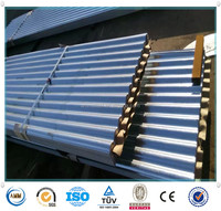 galvanized corrugated steel sheet for roofs/bricks for house building construction metals from China alibaba