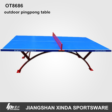 2014 new design cheap outdoor table tennis table