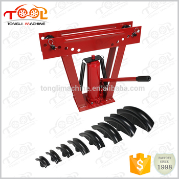 Guaranteed Quality Proper Price Alibaba Express 16ton TL0300-1-16 Super Power Hydraulic Pipe Bender 6 Dies Tubing Tube Bending
