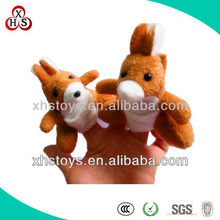 Finger puppets toy,finger puppets plush animal toy set,