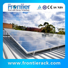 10KW Resistance wind rooftop solar panel mounting racking system