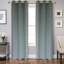 new style 100% polyester beautiful garden curtain