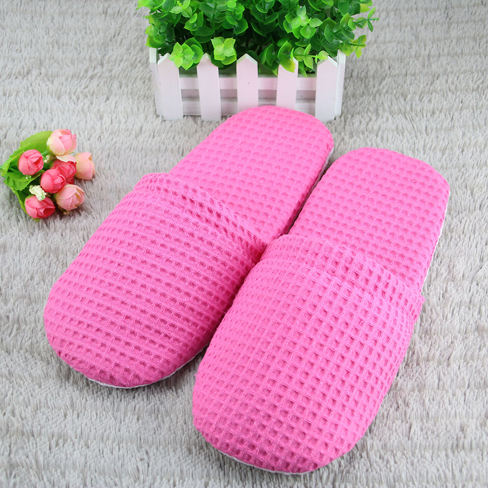 disposable non slip woman hotel slipper