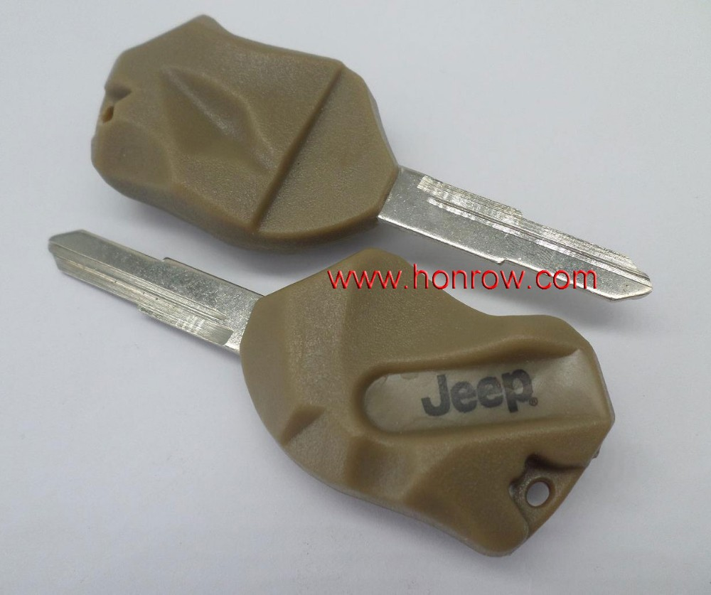 High quality key blank for Jeep stone grand cherokee key transponder key cover for jeep