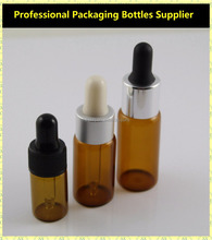 5ml / 10ml Essential Oil Use Glass Vial With Dropper
