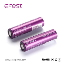 high quality 3.7v rechargeable battery Efest IMR 18650 18500 18350 13450 16340 batteries