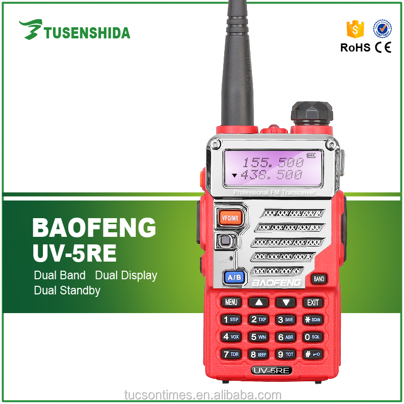 Baofeng Wholesaler Ham Radio BF UV-5RE Dual Band Mobile Transceiver