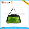 good quality large green fancy durable nylon travel duffel bag