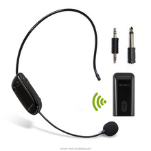 shidu U8 Wireless Headset Mic with 3.5mm Receiver for Any Voice Amplifiers
