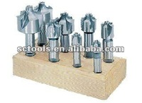 8PC HSS CORNER ROUNDING END MILL SET