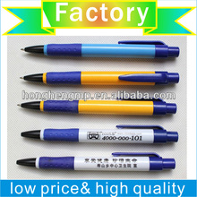 pen factory sales blue link promotional ball-point pen at low price