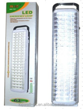 63 Leds dual battery 220v rechargeable emergency led lamp