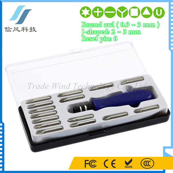 15 In 1 T5 T6 T8 T10 T15 Torx Screw Driver Set Tool Kit for Mobile Phone Laptop Notebook Repair Tool