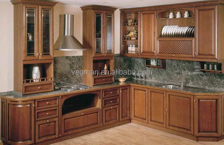 Oak solid wood kitchen cabinet door designed for American style kitchens
