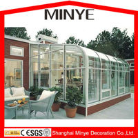 Villa used balcony aluminum Patio sunroom,Aluminum sunrooms, good quality sunrooms