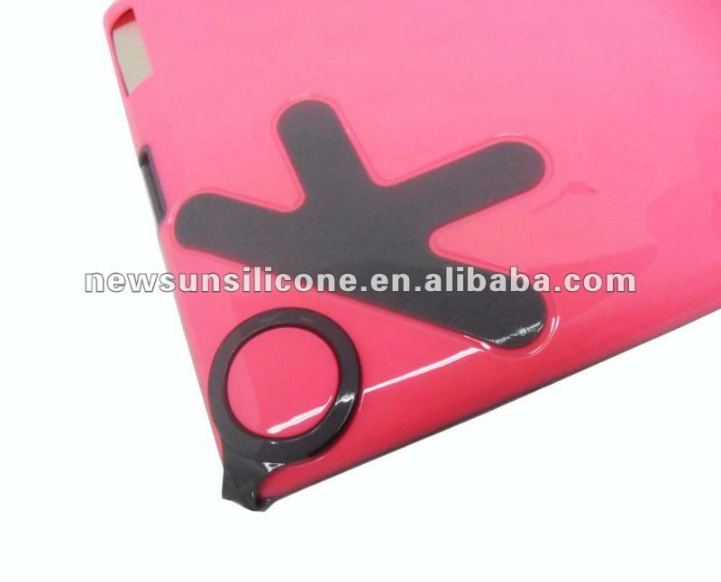 pc hard case for new ipad 3/ipad 2,ok design