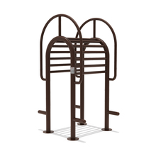 Commercial Stainless Steel Waist Back Stretch Outdoor Gym Equipment