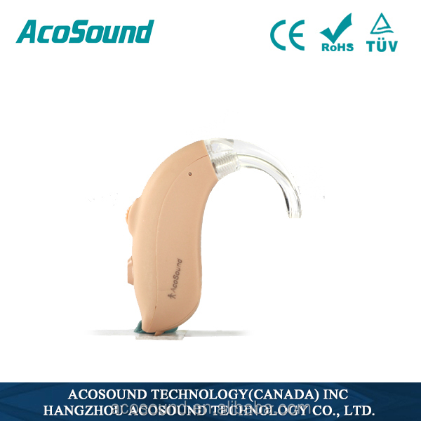 Alibaba AcoSound Acomate 420 BTE CE TUV ISO Proved cheap hearing aids prices